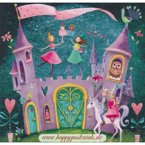 Magical Castle - Mila Marquis Postcard
