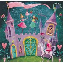 Magical Castle - Mila Marquis Postcard