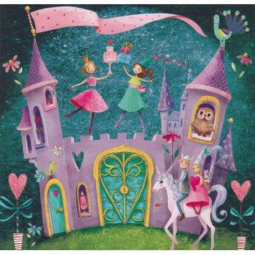 Zauberschloss - Mila Marquis Postkarte