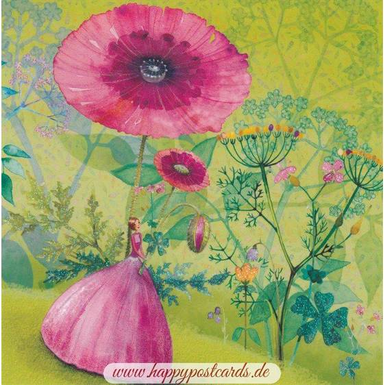 Blumenwald - Mila Marquis Postkarte
