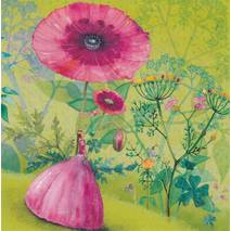 Forest of Flowers - Mila Marquis Postcard