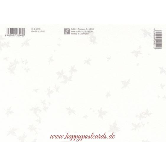 Happy Birthday - Animals celebrating - Mila Marquis Postcard