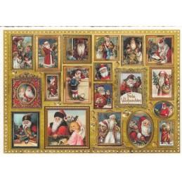 Nikolausgalerie - Tausendschön - Weihnachtspostkarte