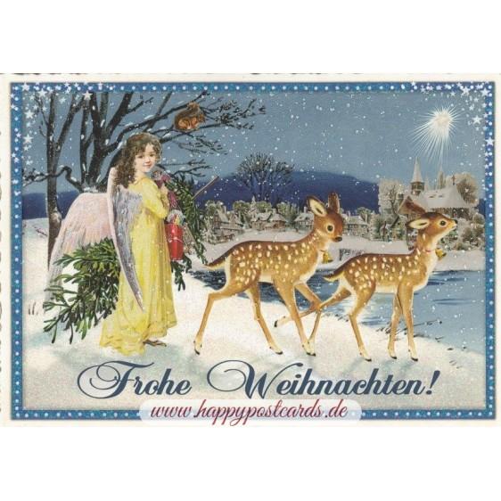 Frohe Weihnachten - Tausendschön - Postkarte