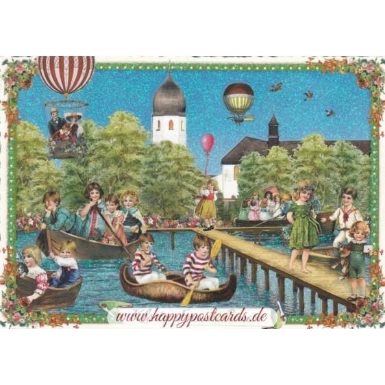 Convent Frauenchiemsee - Tausendschön - Postcard