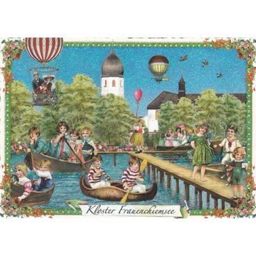 Kloster Frauenchiemsee - Tausendschön - Postkarte
