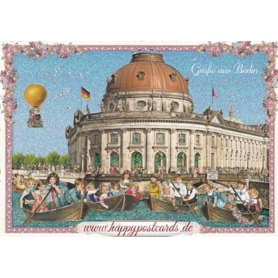 Berlin - Museumsinsel - Tausendschön - Postkarte