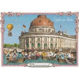 Berlin - Museumsinsel - Tausendschön - Postcard