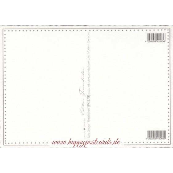 Robin redbreast - Tausendschön - Postcard