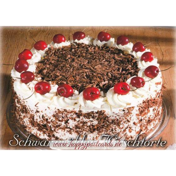 Black Forest Cake - Viewcard