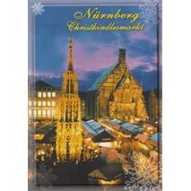 Nürnberg Christmas market - Viewcard