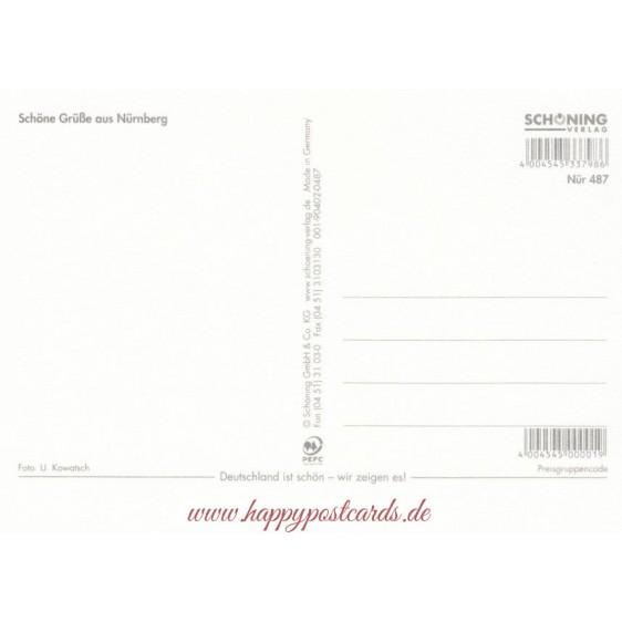 Nürnberg Christmas market - Viewcard