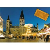 Bonn Christmas market - Viewcard