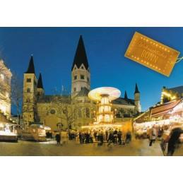 Bonn - Weihnachtsmarkt  - Ansichtskarte