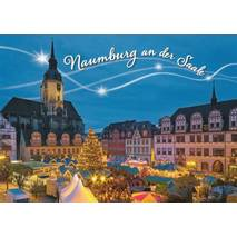 Naumburg / Saale Christmas market - Viewcard