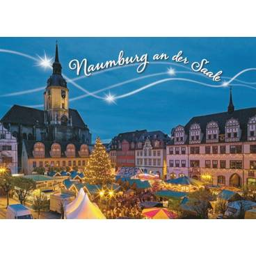 Naumburg / Saale Christmas market - Viewcard