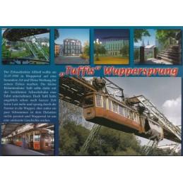 Wuppertal - Tuffi's Jump - Chronicle - Viewcard