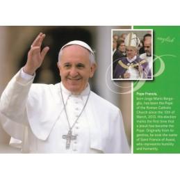 Pope Francis - english Chronicle - Viewcard