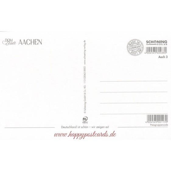 Aachen cathedral - HotSpot-Card