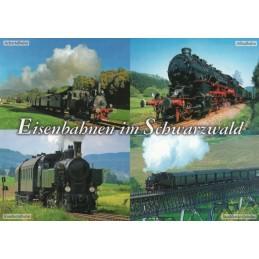 Eisenbahnen im Schwarzwald - Ansichtskarte