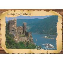 Castle Rheinstein - Viewcard