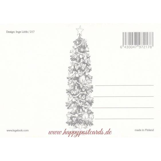 217 - Zwerg und Vögelchen - Postkarte