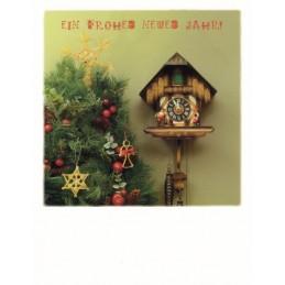 Christmas cuckoo - PolaCard
