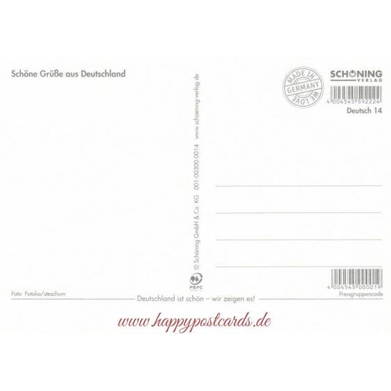 Martin Luther - Wittenberg - Viewcard