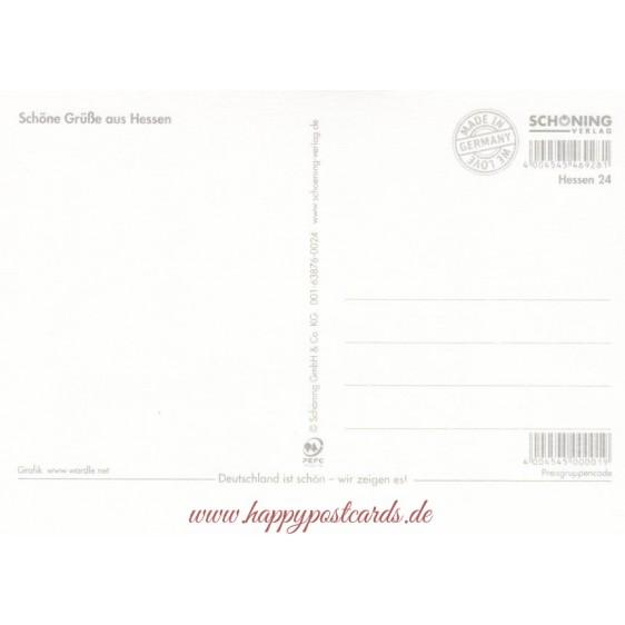 Hesse Words - Viewcard