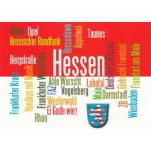 Hesse Words - Viewcard