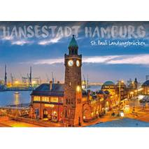 Hamburg Landungsbrücken - Viewcard