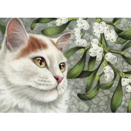 Mistelzweig - Garmashova Postkarte