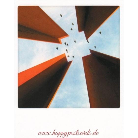 Berlin - Mauervögel - PolaCard