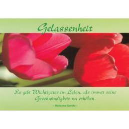 Gelassenheit - Spruchkarte