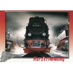 Harz Narrow-gauge railway - Viewcard