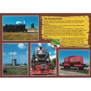 Die Brockenbahn - Chronikkarte