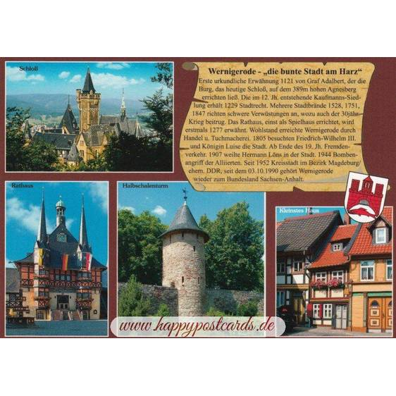 Wernigerode - Chronicle - Viewcard