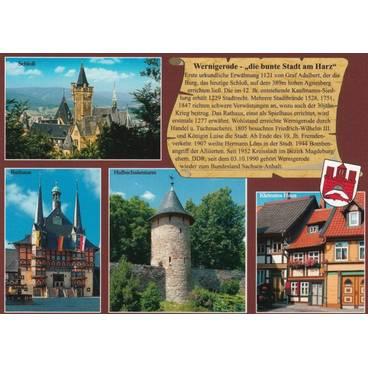 Wernigerode - Chronikkarte