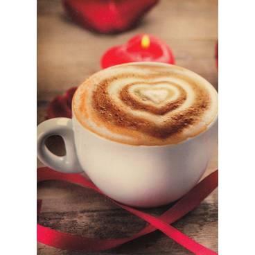 Cappuccino - Postkarte