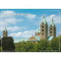 Speyer Cathedral - Viewcard