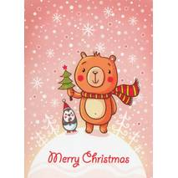 Merry Christmas - Smirnova - Weihnachtspostkarte