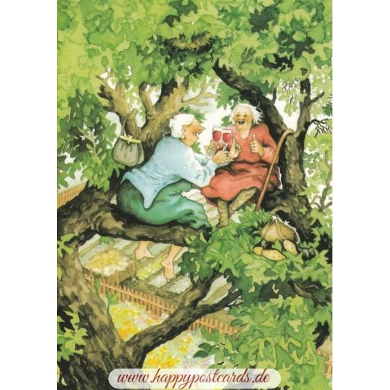 50 - Frauen auf Baum