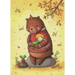 Birthday Boy - Smirnova - Postcard
