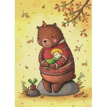 Geburtstagskind - Smirnova - Postkarte