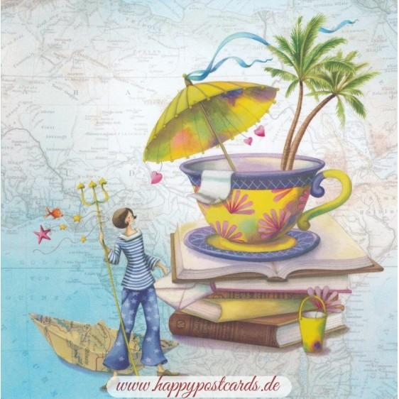 Reiselust - Nina Chen Postkarte