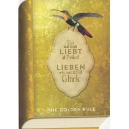Tun was man liebt ist Freiheit - BookCARD