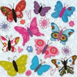 Butterflies - Carola Pabst Postcard