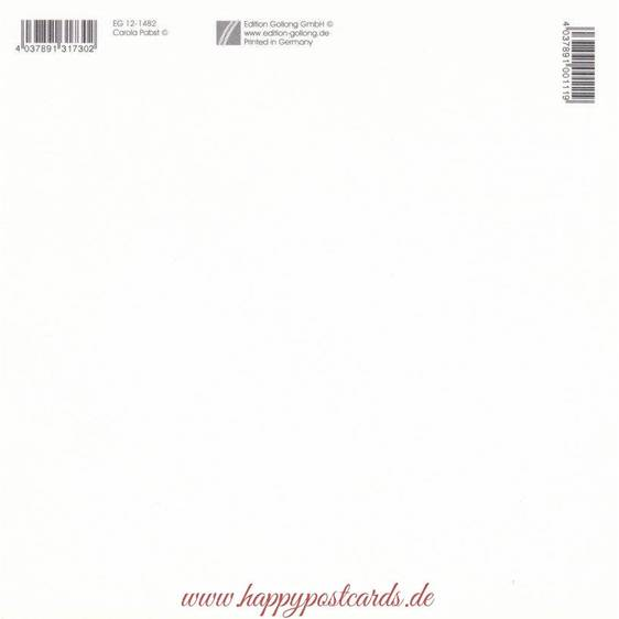 Hippo mit Brief - Carola Pabst Postkarte