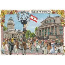 Berlin - Gendarmenmarkt - Tausendschön - Postkarte