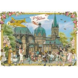 Aachen Cathedral - Tausendschön - Postcard